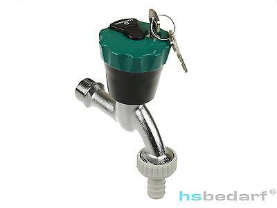 Abschließbarer Wasserhahn Wasser Safe abschließbar Garten Auslaufventil