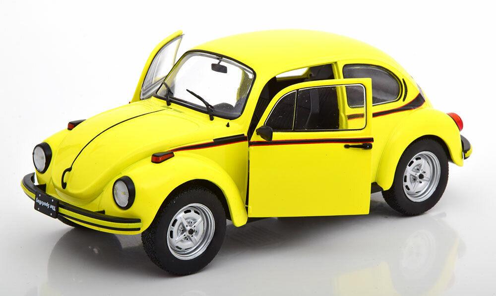 Vw beetle kafer 1303 sport bug 1974 lumière jaune solido  volkswagen s1800511 1 18  acheter 100% de qualité authentique
