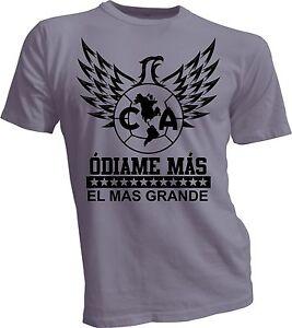 35c0849e440 Image is loading Club-America-Mexico-Aguilas-Camiseta-T-Shirt-Odiame-