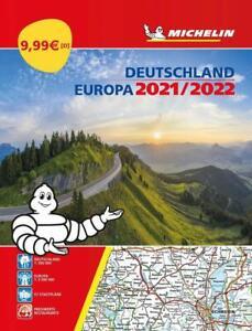 Michelin Straßenatlas Deutschland & Europa 2021/2022 (Sheet map)