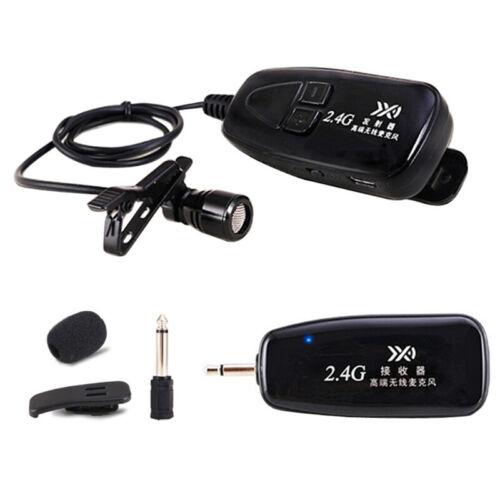 Drahtloses Mikrofon 2.4G Sprach Kopfhörer Kopfhörer Megaphon Radio Mikrofon Y9F4