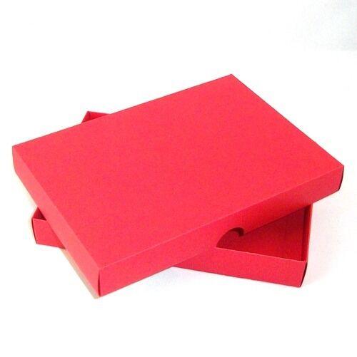 5  x 7  rojo tarjeta de felicitación de cajas, Regalo, Entrega Gratis. elegir Cant, Boda