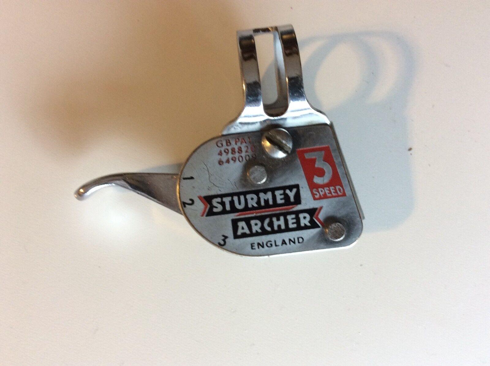 NOS 1956 Sturmey Archer 3 Speed Trigger Shifter for Raleigh Bike Schwinn