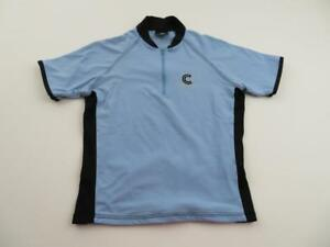 Image is loading Cannondale-Womens-Blue-Black-Cycling-Jersey-Size-Medium- 6c14c84a3