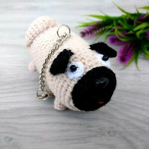 Ravelry: Albert the amigurumi Pug pattern by Ilaria Caliri (aka ... | 300x300