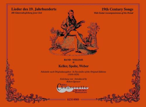 Facsimile Band 2 With Guitar Accompaniments of the Period 19th Century Songs
