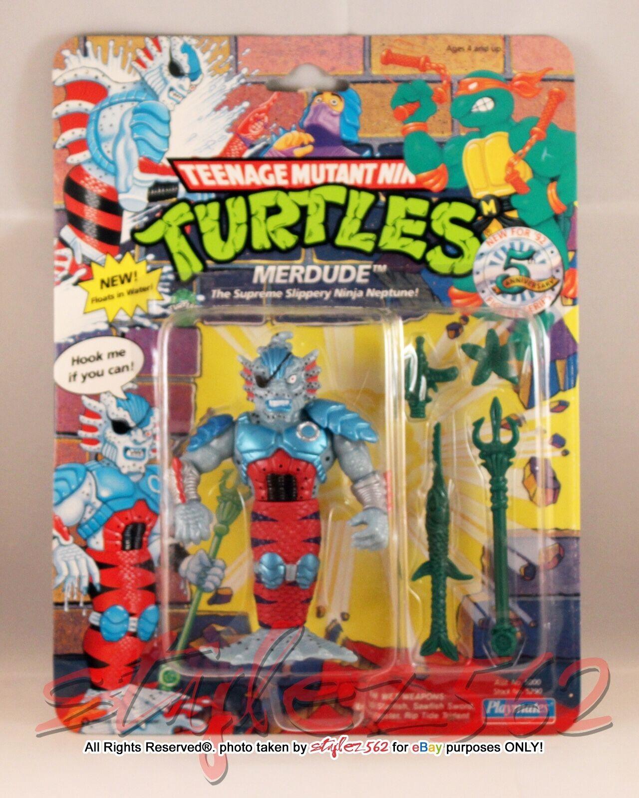 TMNT 1992 Merdude MOC PUNCHED - PLAYMATES