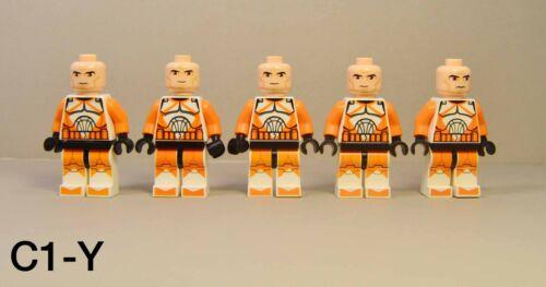 LEGO Star Wars Bomb Squad Clone Trooper Minifigures Lot 7913