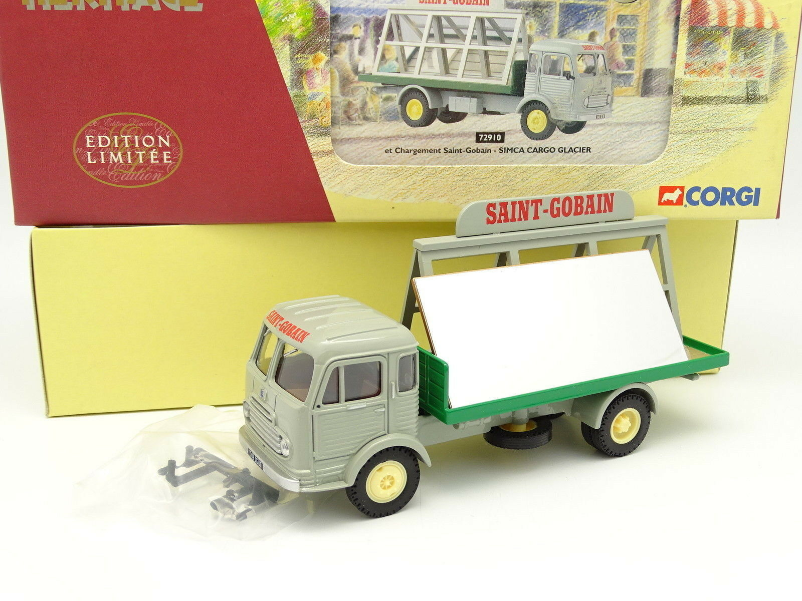 Corgi Heritage 1 50 - Simca Cargo Miroitier Saint Gobain