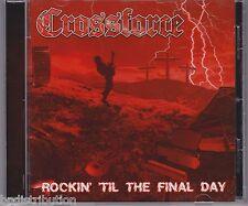 CROSSFORCE - ROCKIN' TIL THE FINAL DAY (CD, 2011, Roxx) Christian Metal Demo