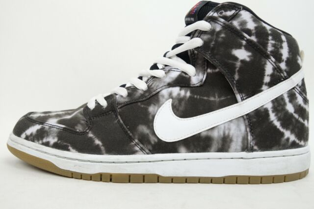 best service d0226 9d2f2 NIKE Dunk High Pro Premium SB Tie Dye Hi-Top Shoe 313171 Men Size 11