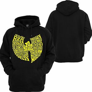 Charmant Wu Tang Clan Hooded Sweatshirt Classic Hip Hop Rap Music Savage Xo Rza Hoodie