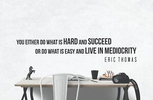Inspirational office decor Decoration Image Is Loading Ericthomasinspirationalmotivational walldecalsartquotes Ebay Eric Thomas Inspirational Motivational Wall Decals Art Quotes Home