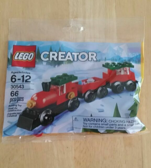 Polybag NEW Lego Creator 66 pcs Holiday Christmas Train #30543