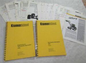 Kramer-Allrad-612-512-S-SL-Technische-Informationen-Mitteilungen-1993-1994-1996