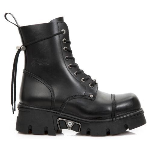 Newmili New Rock NR M.NEWMILI083 S23 Black Boots Unisex