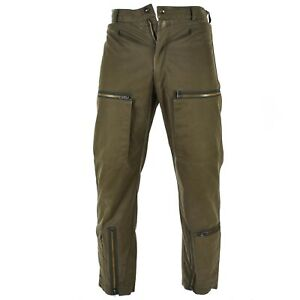 Genuine-Italian-army-Air-force-combat-trousers-military-pants-brown