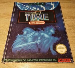 Super Nintendo SNES // Illusion of Time - Spieleberater / dt. (Lösungsbuch)
