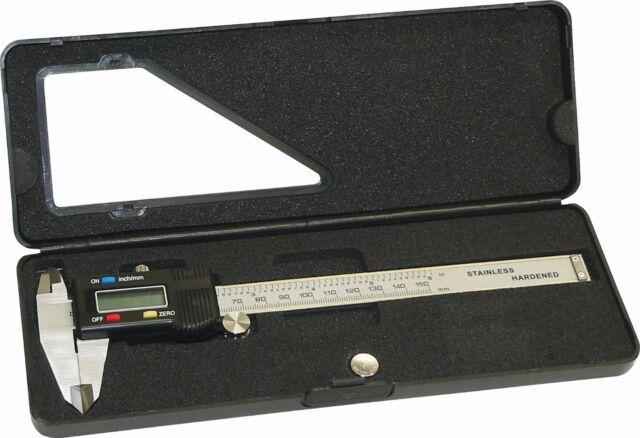 LCD Digitale Schieblehre Meßschieber innen/außen 0-150 mm Triuso MSDIGI2