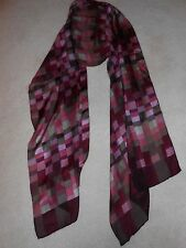 Purple Abstract Scarf