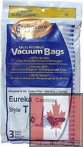 Eureka Style T Vacuum Bags (3 pack)