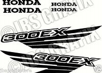 Honda 300ex Decal/sticker Set Free Shipping And Color Choice