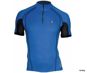 Maillot-de-Velo-NORTHWAVE-NW-89111021-Force-Jersey-Bleu-T-M-NEUF
