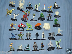 BEN TEN 10 MINI CHARACTERS ACTION FIGURES VARIOUS AVAILABLE  eBay