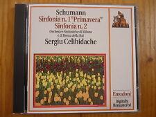 Schumann  Symphonies 1 & 2 Sergiu Celibidache and Rai Orchestra  FONIT CETRA CD