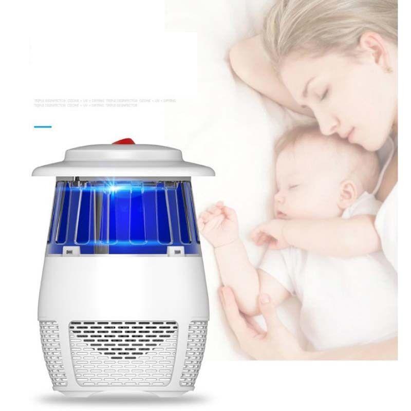 lectrique usb lumi re uv lure aspiration moustiques tueur pi ge moustique lampe ebay. Black Bedroom Furniture Sets. Home Design Ideas
