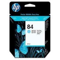 GENUINE HP HEWLETT PACKARD HP 84 LIGHT CYAN INK CARTRIDGE 69ML C5017A 09