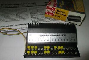 Busch-5745-Signal-Steuerbaustein-gt-Top-Emballage-D-039-Origine