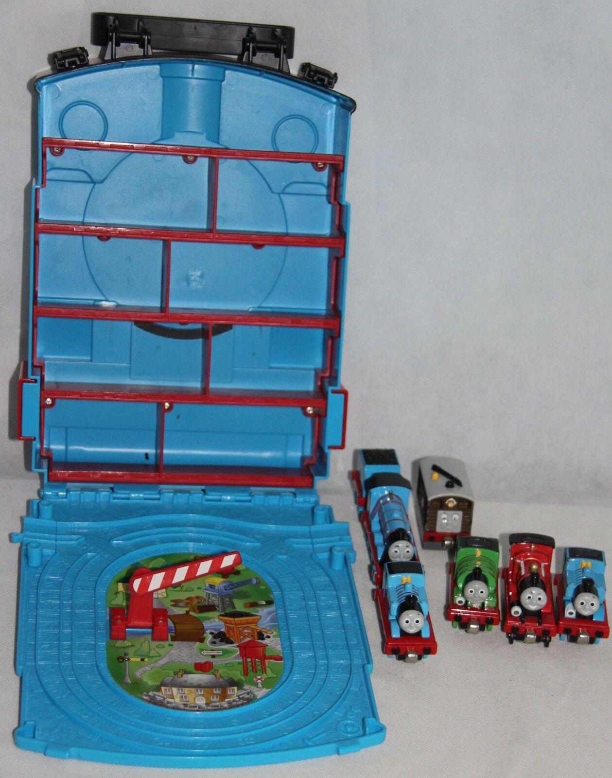 Thomas und seine Freunde Transportkoffer Lok Koffer Bahn 7 Loks Take-N-Play-Alo