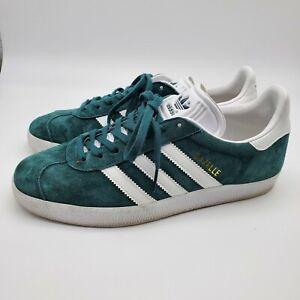 Adidas-Gazelle-Men-039-s-Size-Collegiate-Green-Cloud-White-Size-6-Men-039-s