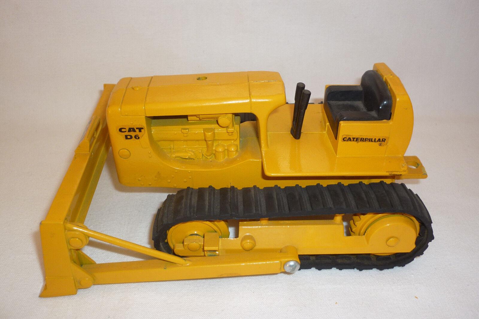 Ertl-metal modelo-caterpillar d 6-Bulldozer - 1 24 - (7.bm-172)