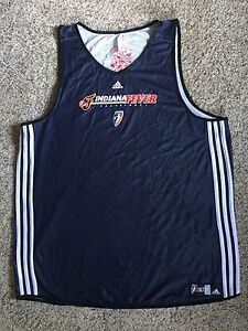 Indiana-Fever-WNBA-Team-Issue-Game-Used-Jersey-2XLT-Adult-Sz