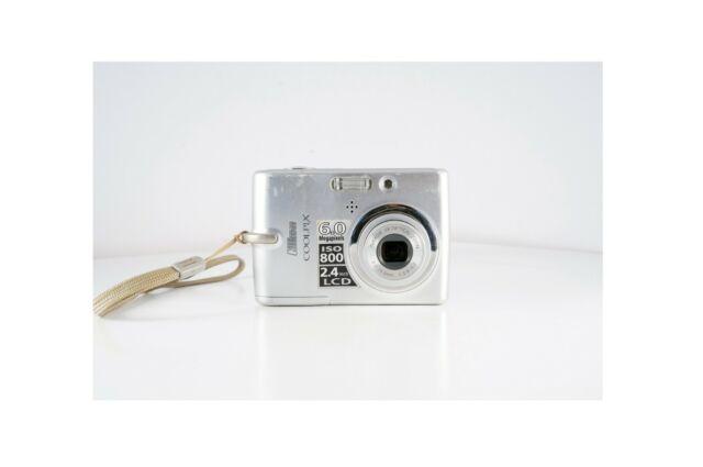 Nikon COOLPIX L11 6.0 MP Digital Camera - Matte silver
