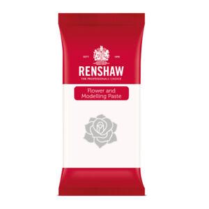Renshaw Professionelle Blumen- und Modellierpaste Zuckerhandwerk - Weiß - 1Kg
