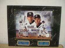 Derek Jeter & Alex Rodriguez New York Yankees MLB Plaque/Display
