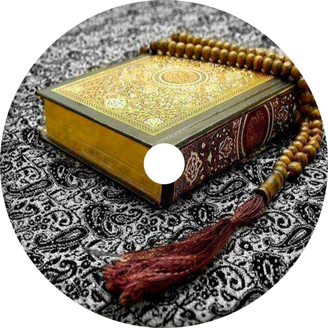 Holy Quran - Arabic Recitation With English Translations (audio Mp3 on Dvd)