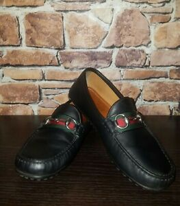 🐎 Gucci Horsebit Driving Loafers UK 5