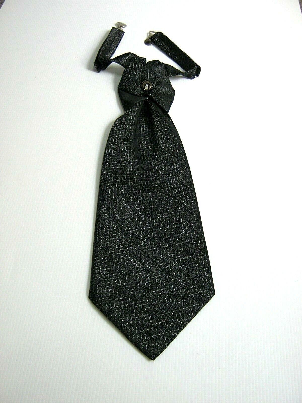 GAI MATTIOLO Couture New Plastron Tie Ceremony Silk