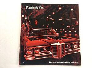 1970-Pontiac-24-page-Sales-Brochure-Catalog-Bonneville-Grand-Prix-LeMans-GTO