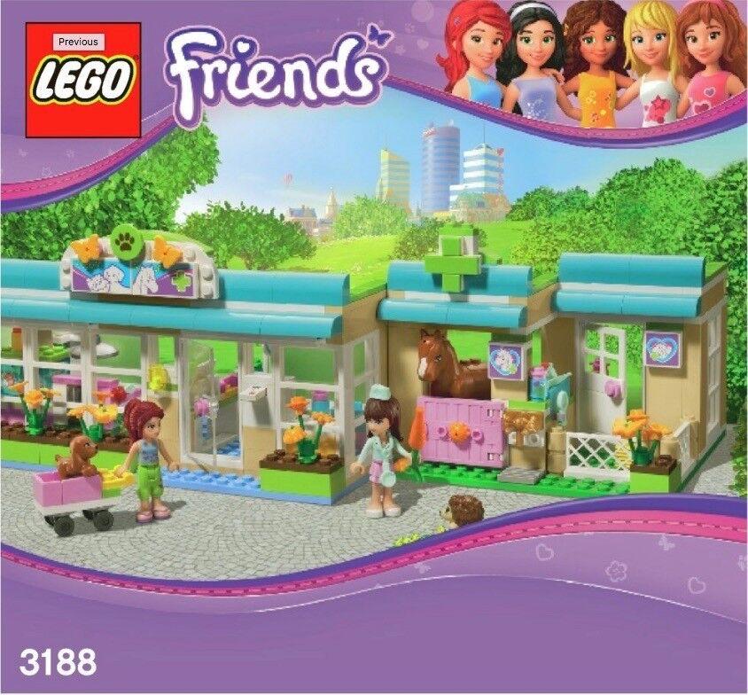 LEGO FRIENDS Heartlake vet 3188