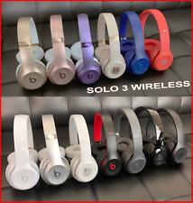 Beats by Dre Solo 3 / Studio 2 Wireless On Ear Headphones Black White Rose Gold