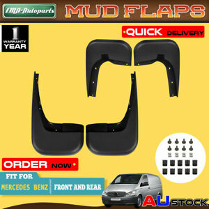 Mercedes Logo Universal Car Mudflaps Front Rear Viano Class Front Mud Flap Guard
