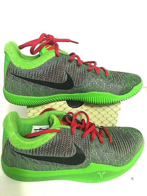 a4131622fffa Nike Mamba Rage Grinch Green Kobe Bryant Basketball Shoes Deadstock Size 9  NIB