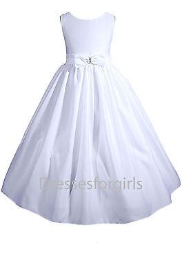 Flower Girl Dress Communion Pageant Wedding Easter Graduation Bridesmaid GA7771