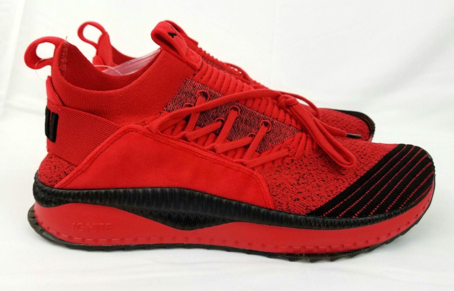 PUMA TSUGI JUN FUBU Men's Sz 12 High Risk Running shoes 366320 02 Red & Black
