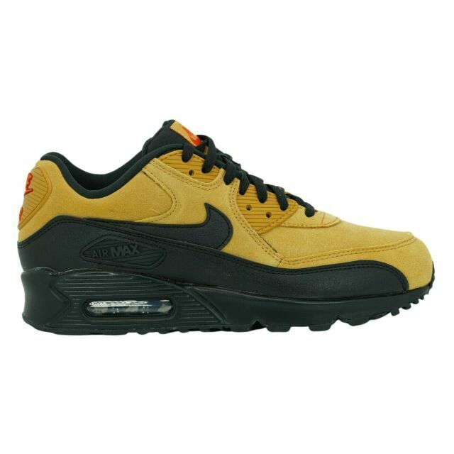 Size 7.5 - Nike Air Max 90 Wheat Black for sale online | eBay